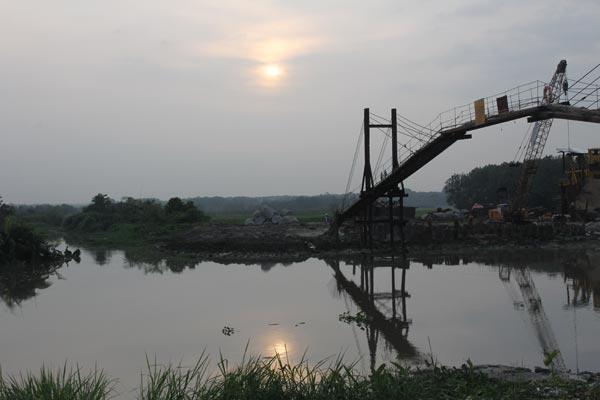 hình thực tế khu đô thị Sunrise river