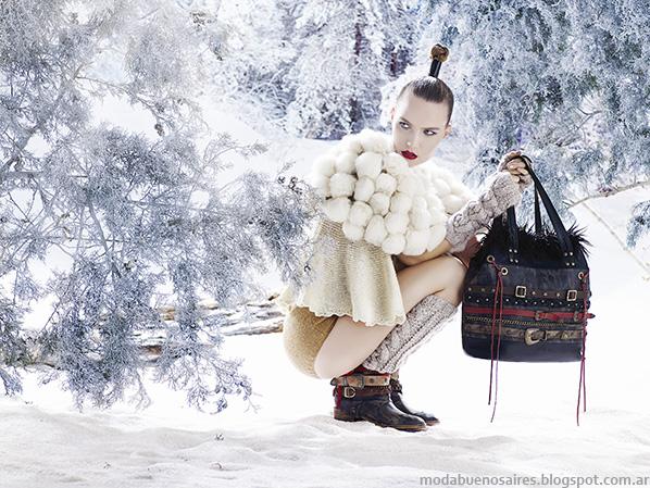 Moda otoño invierno 2014 carteras Carla Danelli.