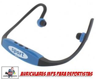 auriculares deportivos con reproductor MP3