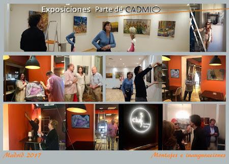Parte de CADMIO. 3 Exposiciones. Hasta el 16 de Noviembre