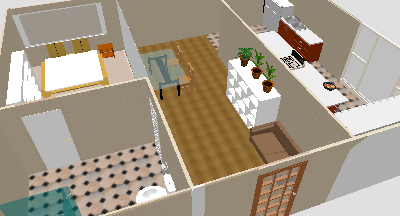 This Is One Of My First Houses I Designed On Sweet Home 3d I Like The Kitchen Floor The Most
