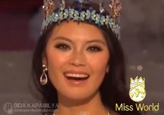 Miss World 2012 is Miss China, Wen Xia Yu