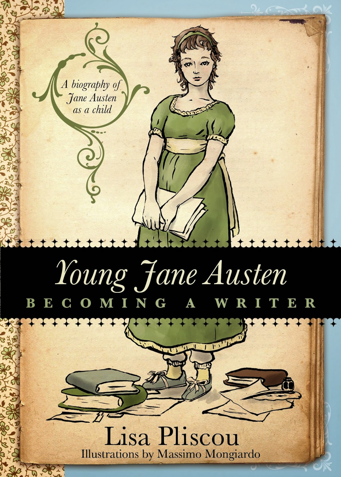 Book cover: Young Jane Austen by Lisa Pliscou