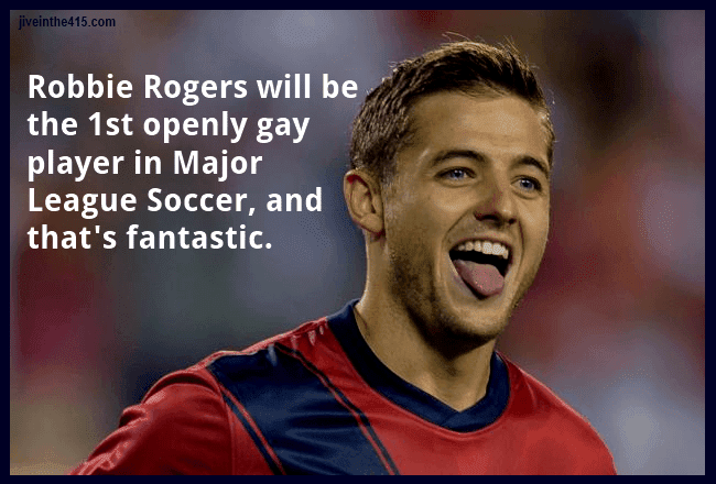Robbie Rogers, the gay footballer/soccer player and US Olympian, US National team player, is returning to professional soccer.