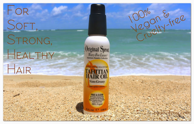 How To Use Tahitian Hair Oil