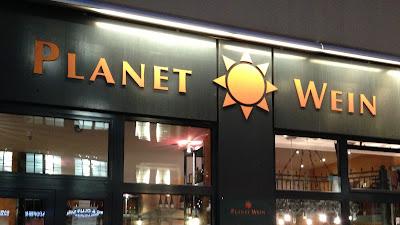 Ett glas vin (eller tre) på Planet Wein