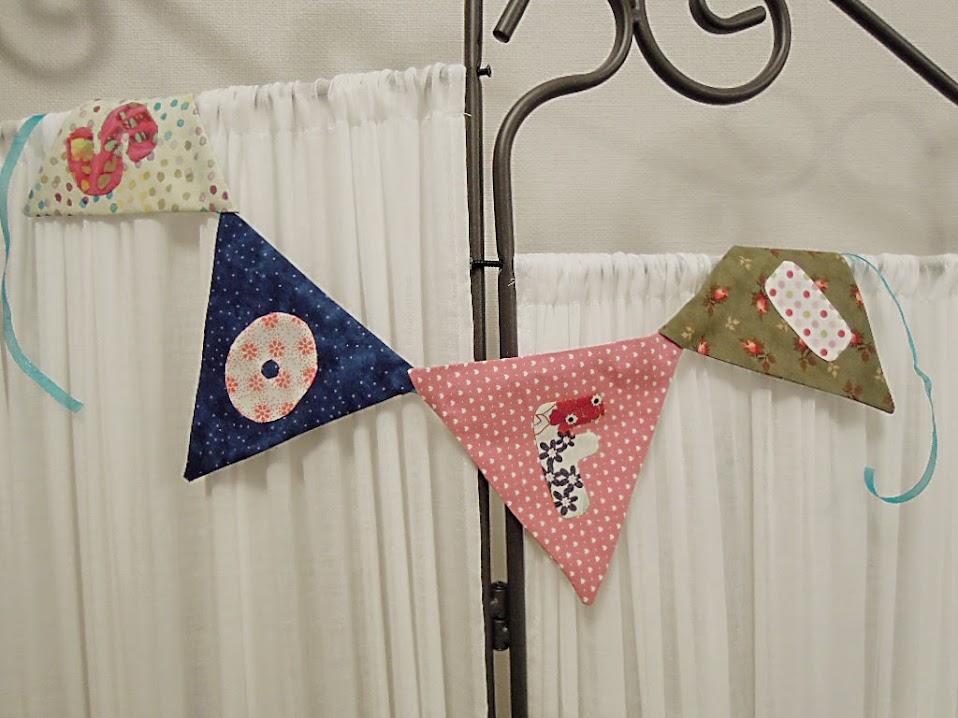 banderines con letra