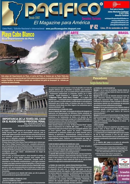 Revista Pacífico  Nº 42 Turismo