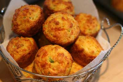 jalapeno corn and cheddar muffins