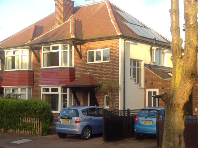 Eco houses west bridgford in transition for 1930s bay window construction