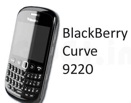 Spesifikasi Blackberry 9220 Curve Davis