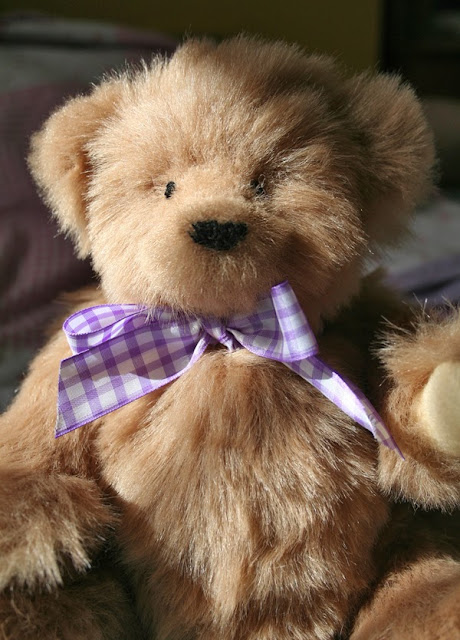 Traditional Teddy Bear with bow tie