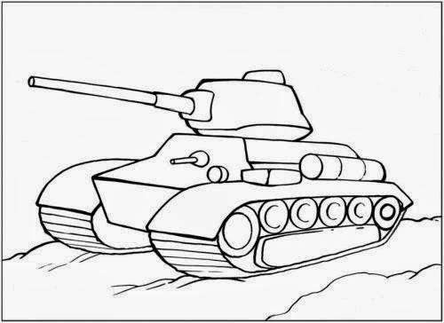 рисунки для раскраски танка