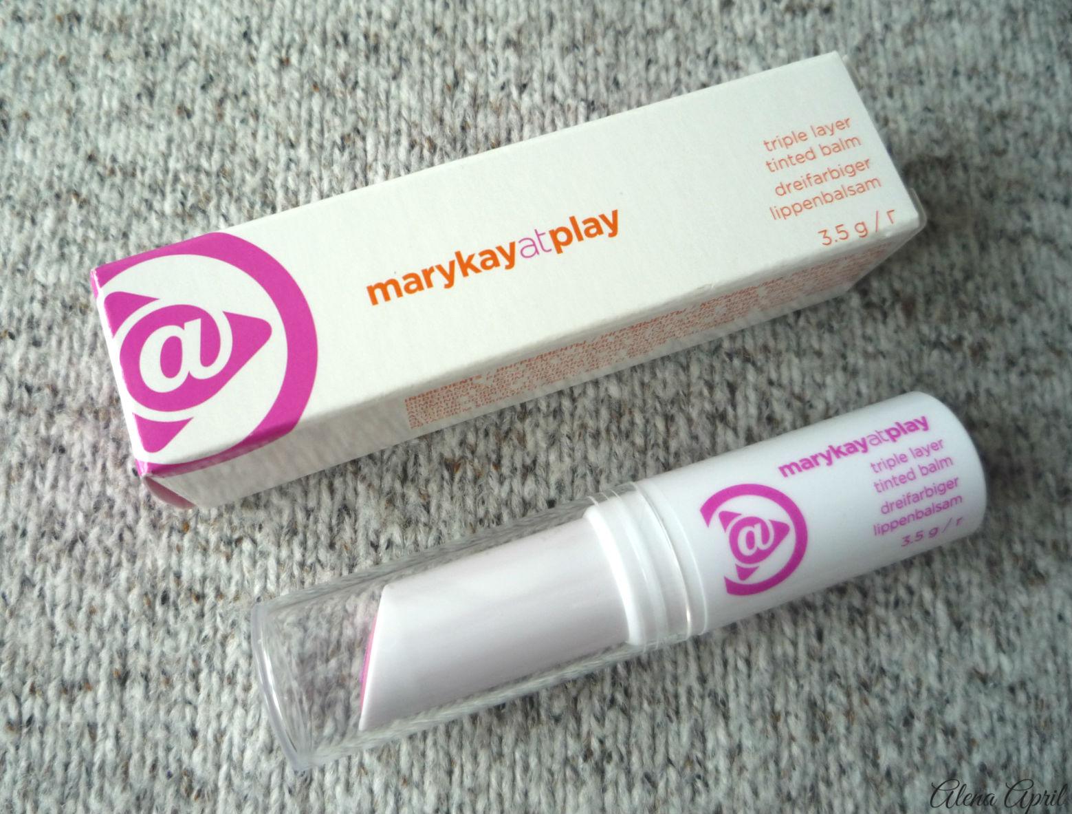 Отзыв, Цветной бальзам для губ 3 в 1 marykayatplay™, Розовые грезы, Pink Again, Mary Kay