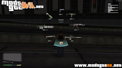 SA - Ícones das Armas Coloridas em HD