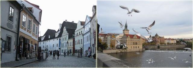 Чески-Крумлов и Прага