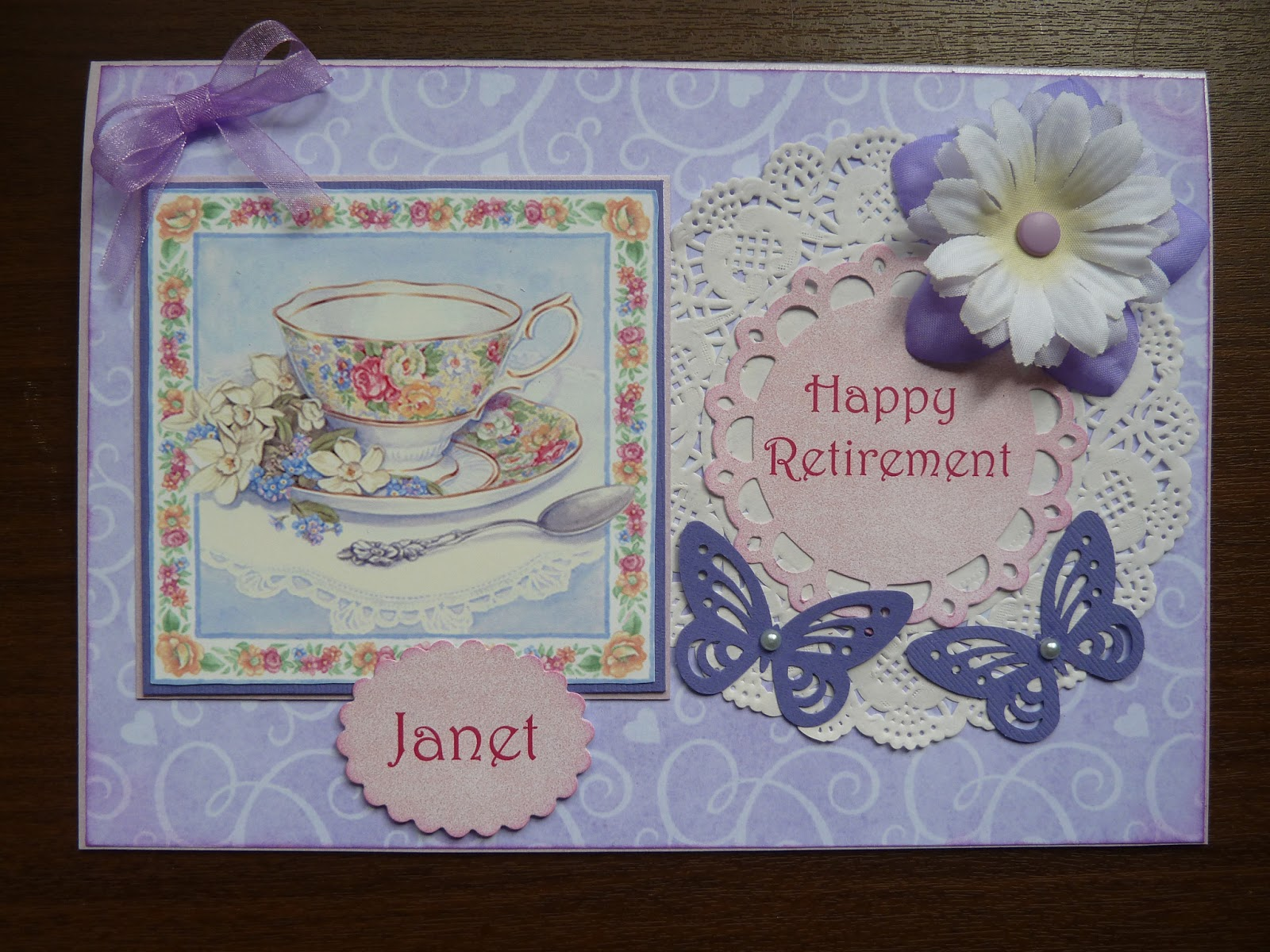 Retirement Cards To Make Rainbow Retirement Card S6 Crafting Great