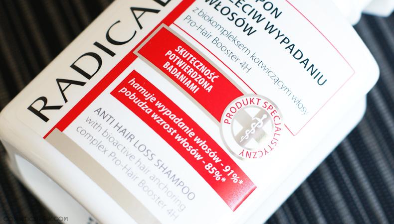 radical med szampon wzmacniający włosy