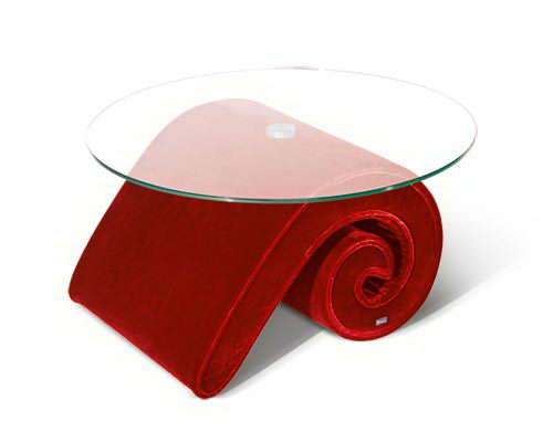 Mammut the Side Table Design Red