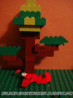 Homeschooling with Legos, Rainforest Lego Creations, Lego Creations