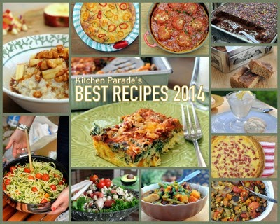 Kitchen Parade's Best Recipes of 2014, all made with 'real food' not processed food. Fresh, easy, healthy, flavor-forward and seasonal. Nutrition information and Weight Watchers points too!
