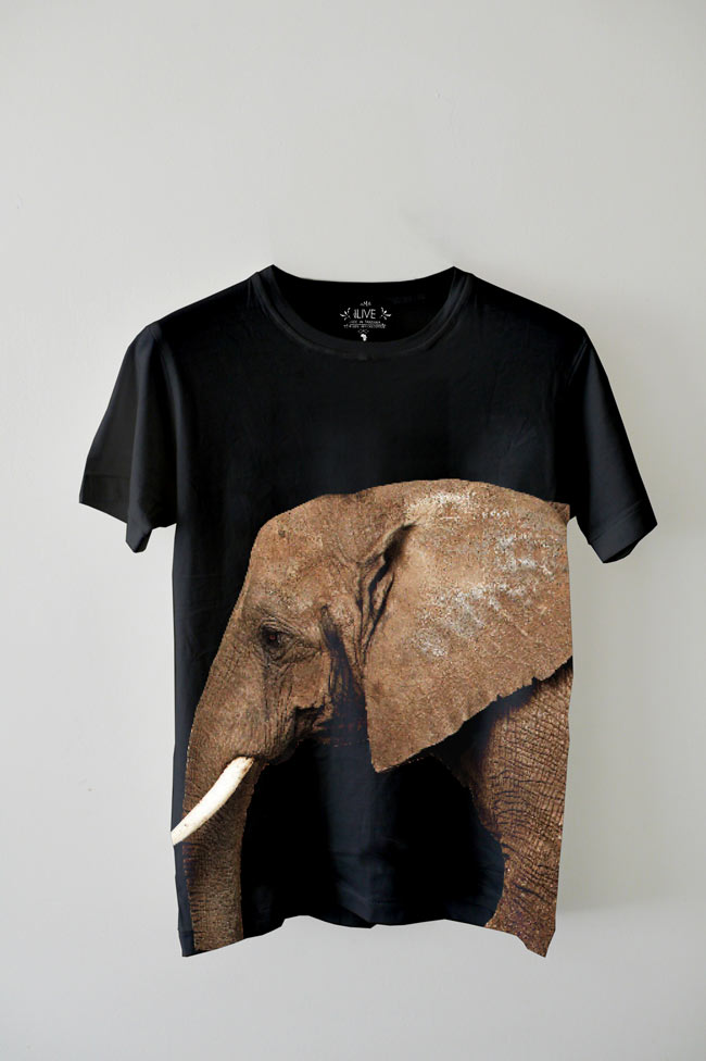 EDUN AFRICAN ELEPHANT T-SHIRT