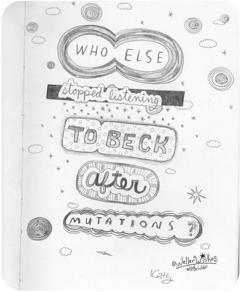 Pencil quote beck
