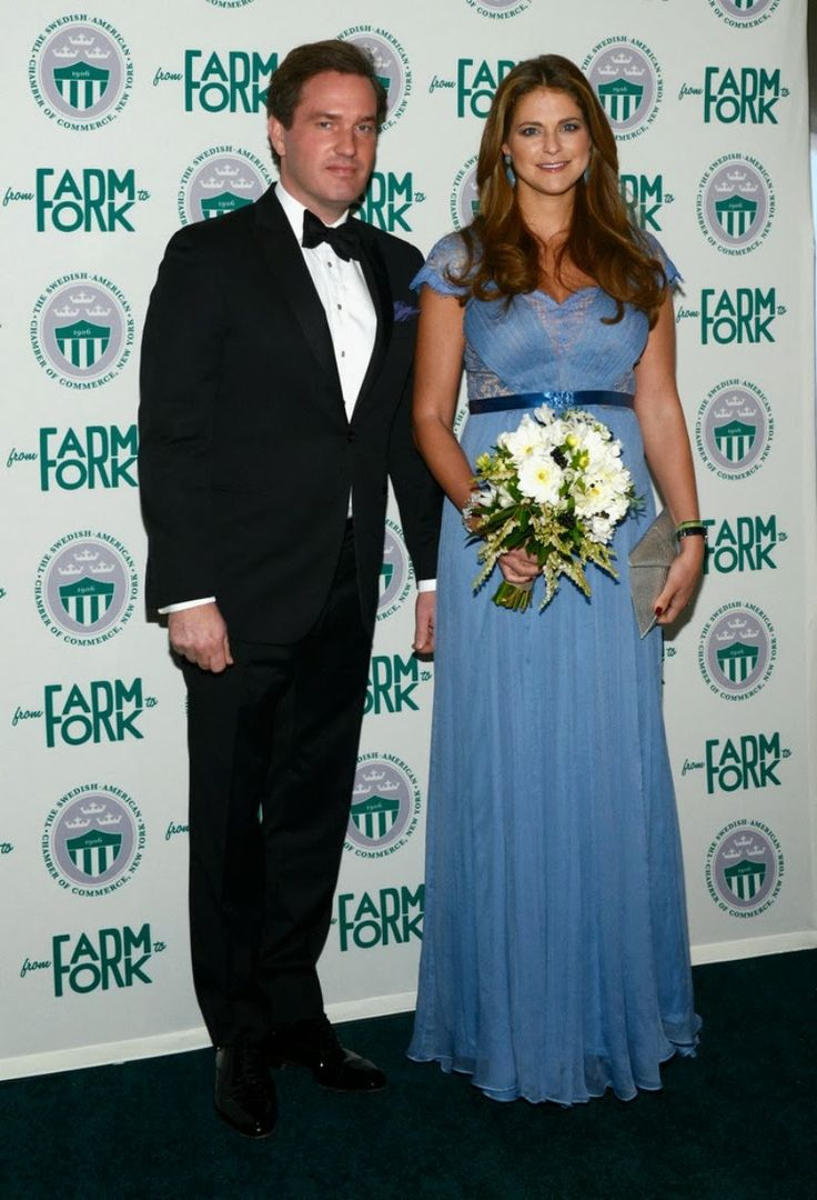 Princess Madeleine and Chris O\'Neill Attends a Gala Dinner in New ...