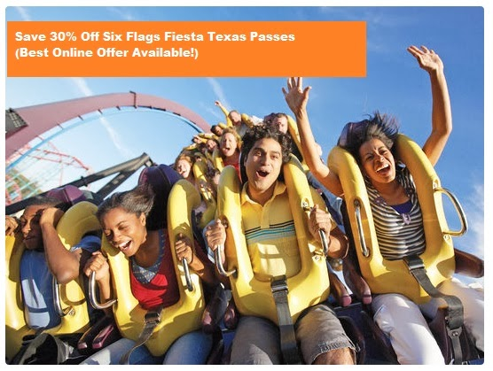 Fiesta Texas discount passes