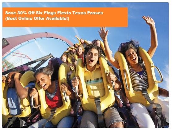 Fiesta Texas discount passes