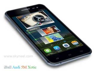 iBall launch low budget Andi 5M Xotic 2GB Ram at Rs. 8,199