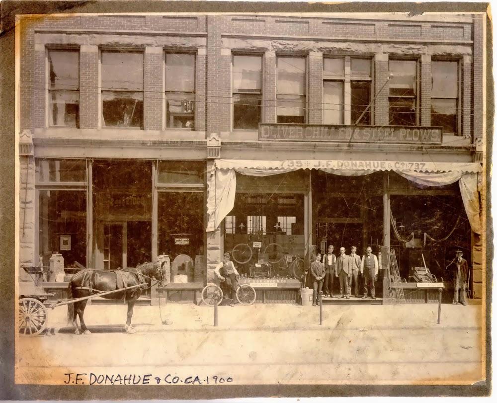 Sandusky History: J.F. Donahue and Company Hardware