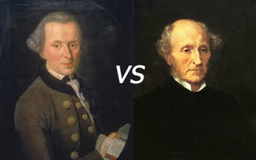 ethics kant vs mill Transcript of kant vs mill: morality showdown ethical views of morality (kant and mill) kant's view continued feelings don't count as motivation, as they're unreliable.