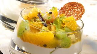 Grilled fruit salad greek yogurt | world of home