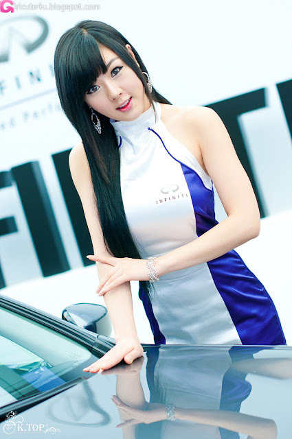 9 Hwang Mi Hee - Infiniti G Racing Limited Edition-very cute asian girl-girlcute4u.blogspot.com