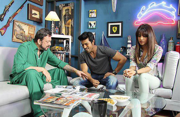 Ram Charan Zanjeer Movie Working Stills