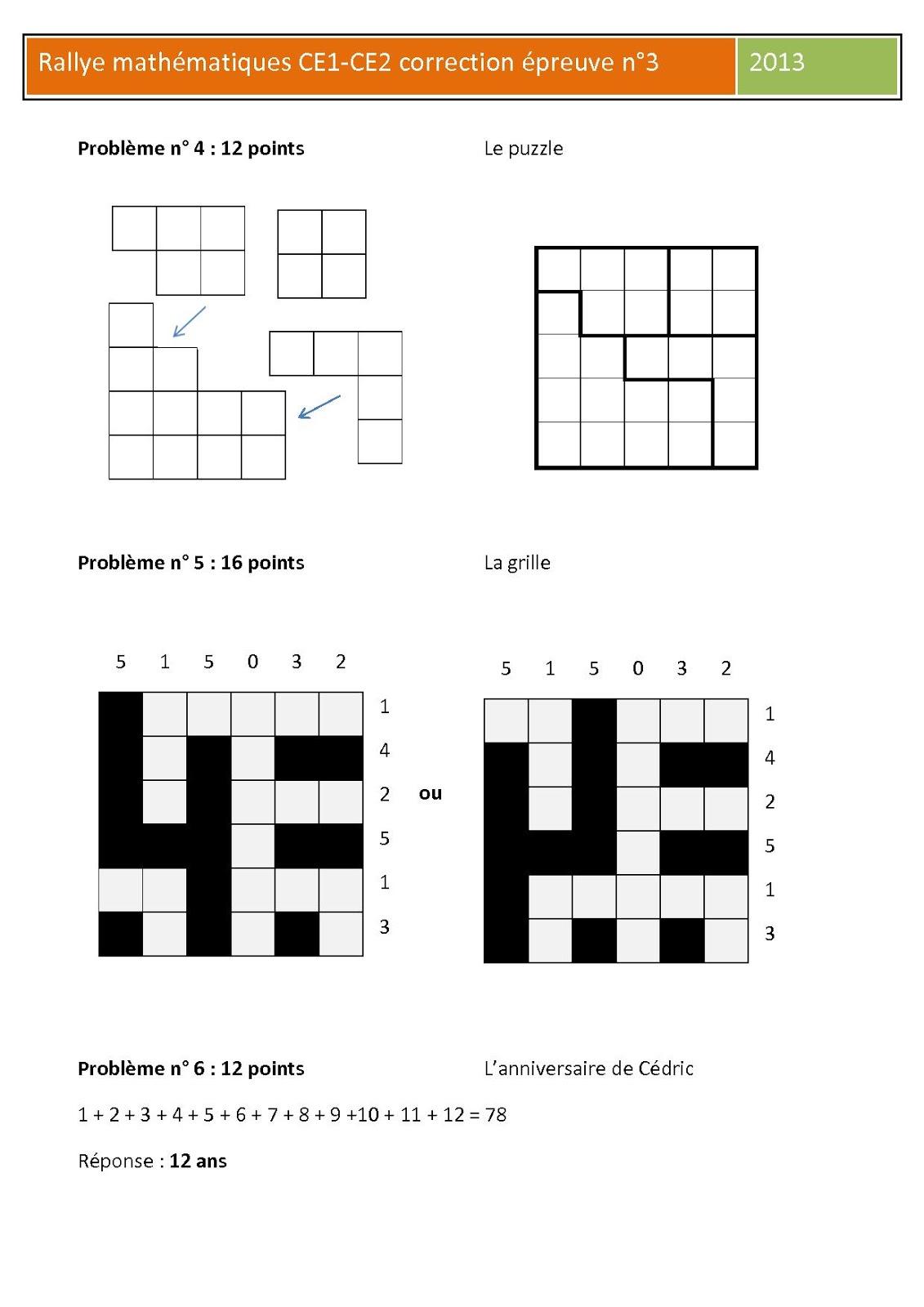 Célèbre Défi mathématiques de la circonscription de Bagnols sur Cèze IZ83