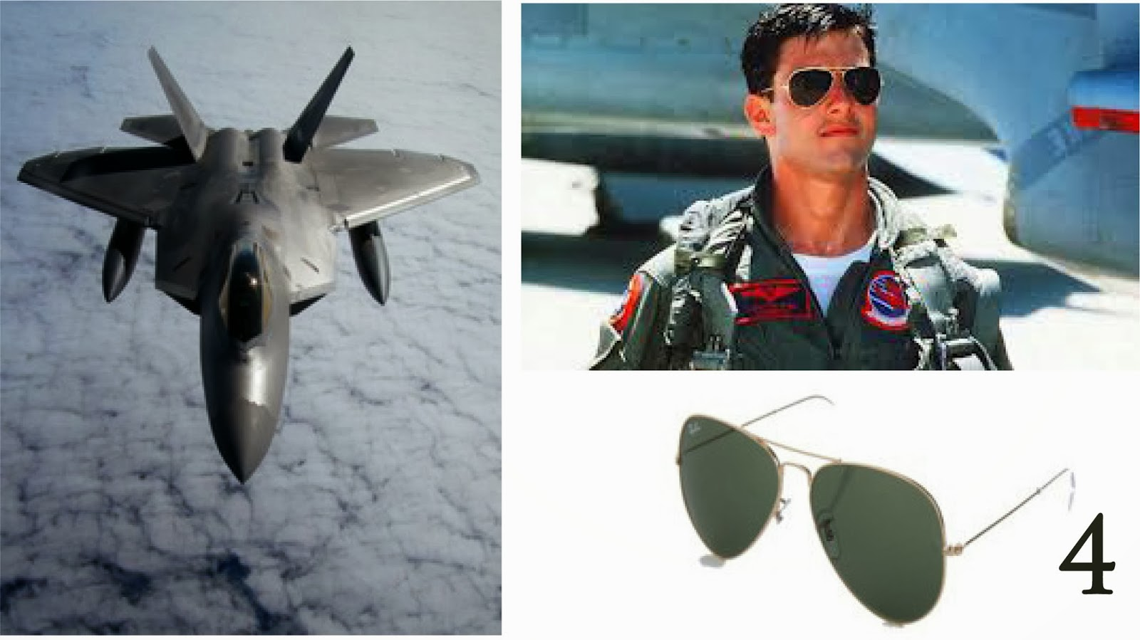 ray ban aviators top gun