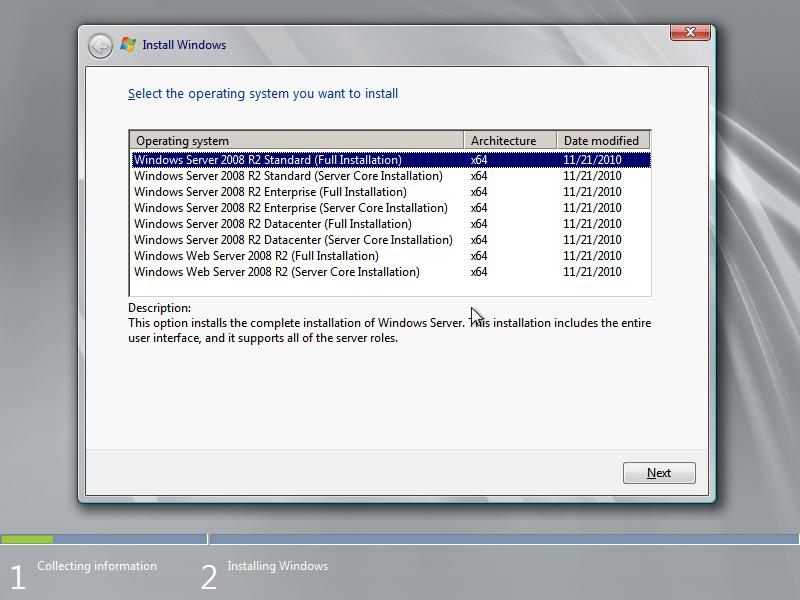 Как сделать из windows 7 windows server