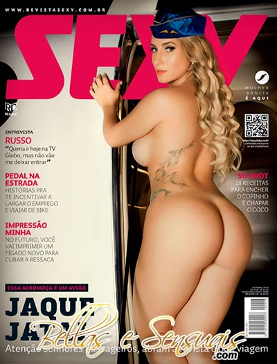 Revista Sexy: Jaque Jatai – Outubro 2014