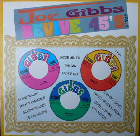 JOE GIBBS REVIVE 45´S LP