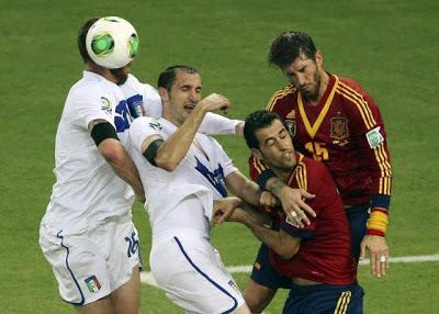 Spanyol vs Italia 7-6 (Adu Penalti): Hasil Piala Konfederasi 2013