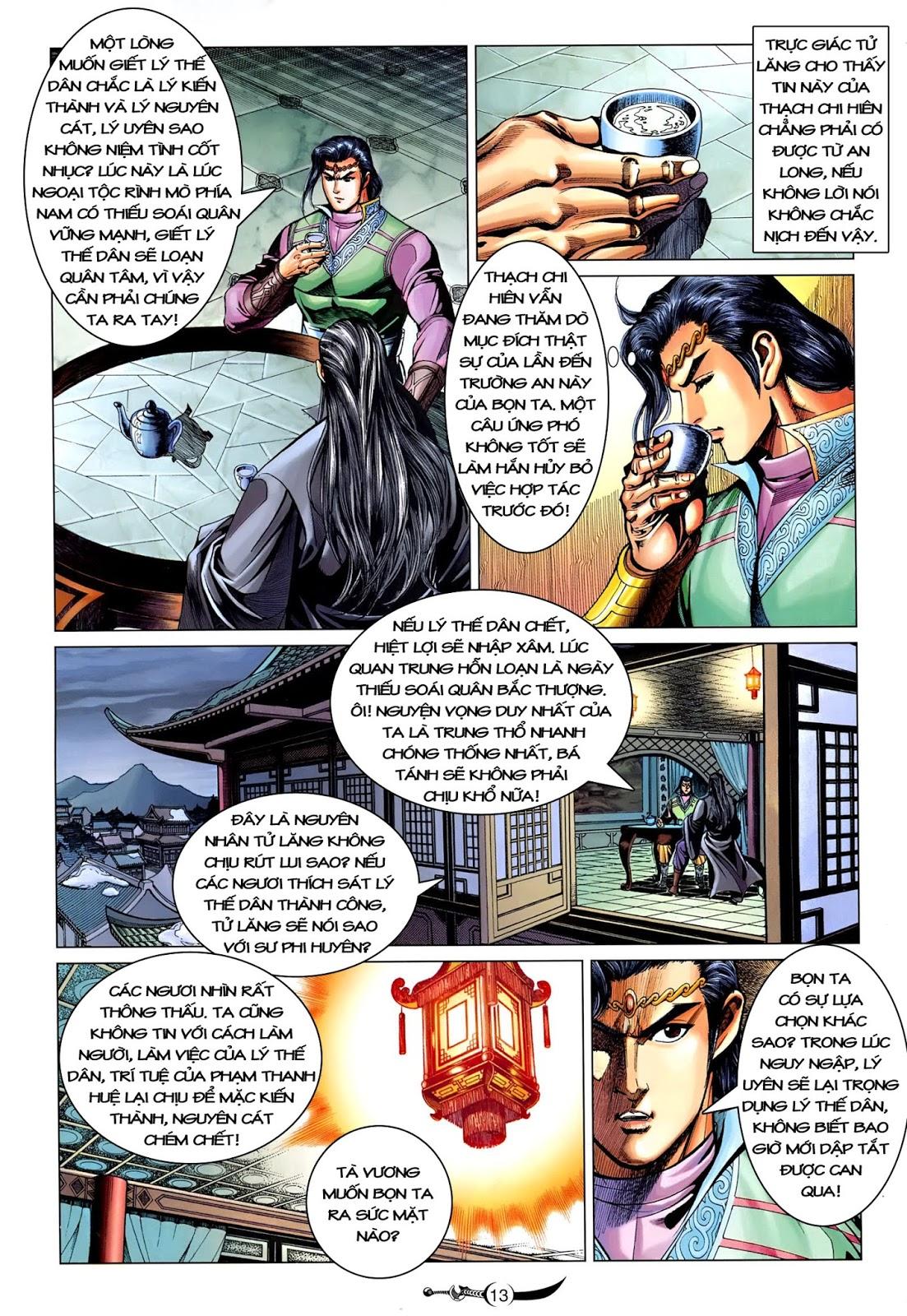 Đại Đường Song Long Truyện chap 216 - Trang 15