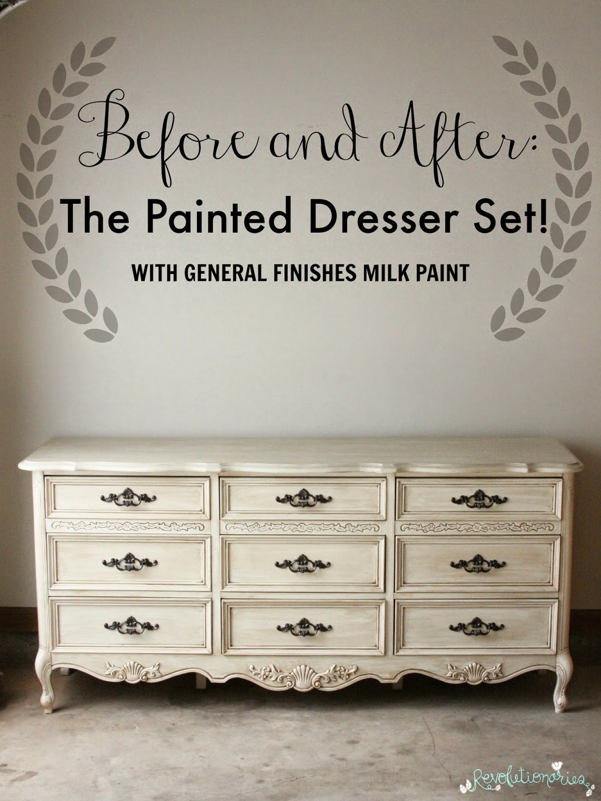 Before and After: The Painted Dresser Set!