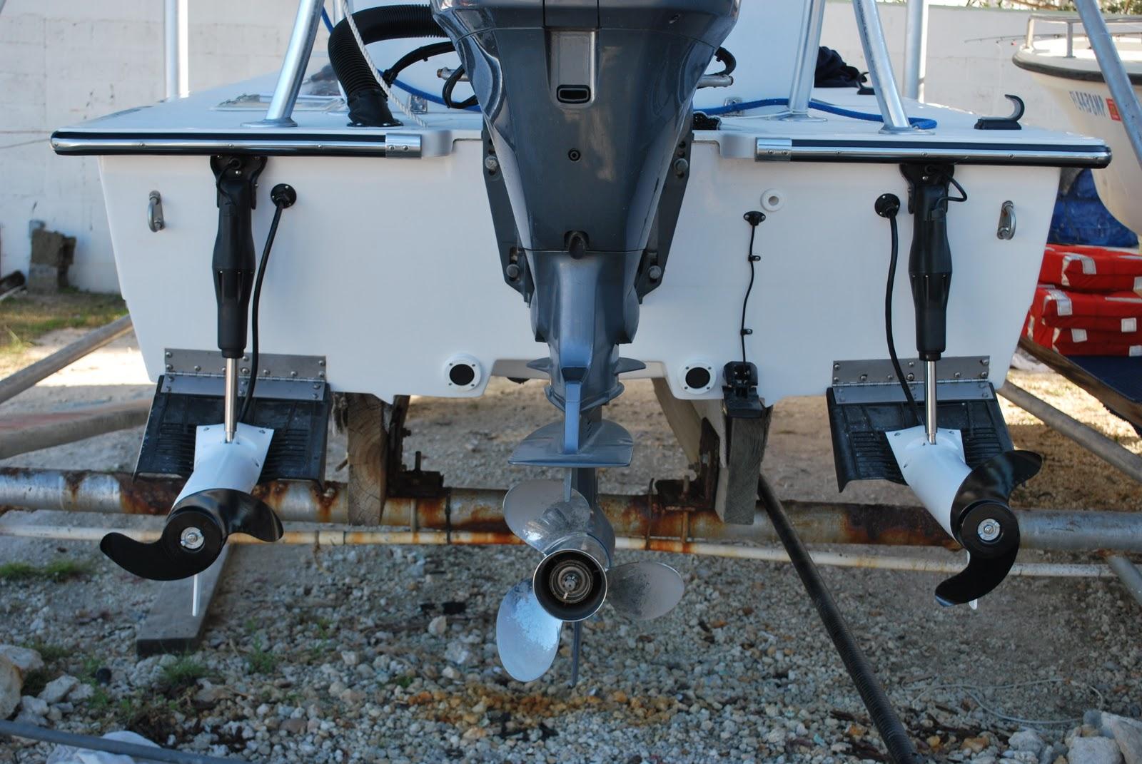 The key west flats angler minnkota trim troll install for Outboard motor trim tab