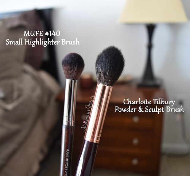 Make Up For Ever 140 Small Highlighter Brush Review