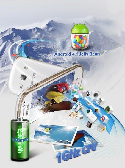 مواصفات ومميزات وأسعار جهاز سامسونج جالاكسي فيم ديوس Samsung Galaxy Fame Duos GT-S6812