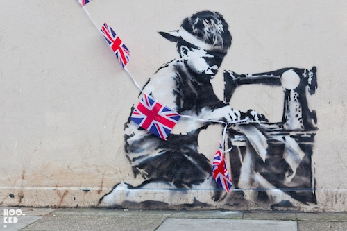 child labour banksy