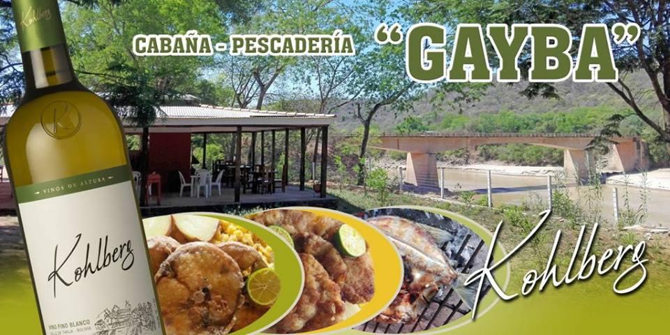 """Cabaña Pescaderia """"GAYBA"""""""
