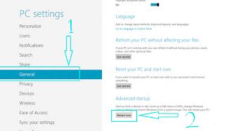 Tips Trik Cara untuk Masuk BIOS di Windows 8